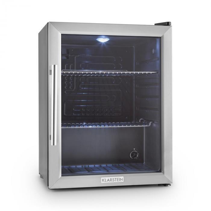 Klarstein Klarstein Beersafe XL frigider 60 litri usa de sticla, clasa B din oțel inoxidabil