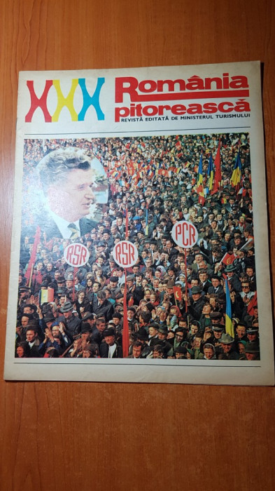 romania pitoreasca august 1974-art. si foto jud. maramures si statiunea olimp