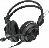Casti cu microfon a4tech comfortfit stereo headset full size 20-20000hz 32 ohm cablu 2m culoare