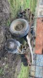 Tractor cu plug si disc