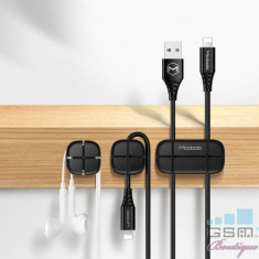 Adaptor Tip Suport Cablu Samsung iPhone Huawei Universal MCDODO Negru