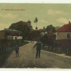 Cp Romania : O VEDERE DIN OCNELE MARI (VALCEA), Circulata, Fotografie