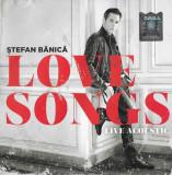 CD Ștefan Bănică – Love Songs - Live Acoustic, original