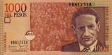 COLUMBIA █ bancnota █ 1000 Pesos █ 2016 █  P-456 █ UNC █ necirculata