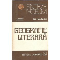 Geografie literara - Gh. Macarie