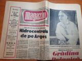 Magazin 18 martie 1961-art. despre viitorul baraj vidraru,gradina botanica
