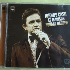 JOHNNY CASH - At Madison Square Garden / There You Go - 2 C D Originale ca NOI, CD