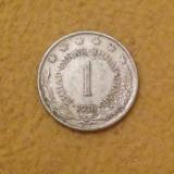 Iugoslavia - 1 dinar - 1978 (monedă, M0031)