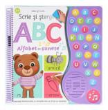 Scrie și șterge. ABC. Alfabet cu sunete