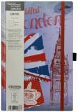 Cumpara ieftin Bloc Notes Ivory Graphic, 240 pagini, velin, motiv Traveller