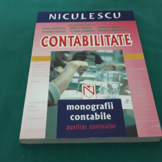 CONTABILITATE *MONOGRAFII CONTABILE*AUXILIAR CURRICULAR/ 2003