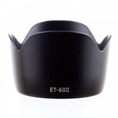 Parasolar ET-60 II inlocuitor pt. Canon EF75-300MM F / 4-5.6 III EF-S 55-250mm foto