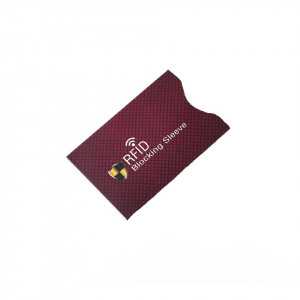 Folie protectie credit card bancar, contactless, model CF03R