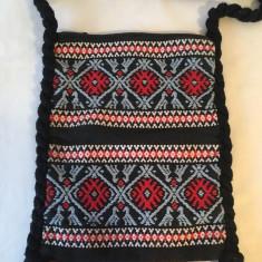 Straita, traista, sac, 35x26 cm, rustic, etno, model traditional, tesuta