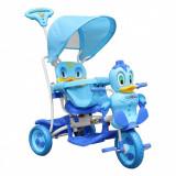 Tricicleta pentru copii Ratusca, albastru