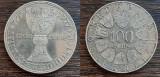 (A138) MONEDA DIN ARGINT AUSTRIA - 100 SCHILLING 1977, STIFT KREMSMUNSTER, Europa