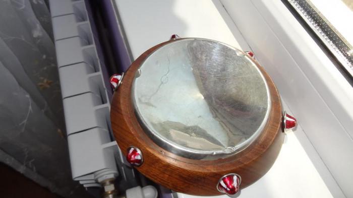 Vand/ schimb Scrumiera mare argint cu mahon anii 1900