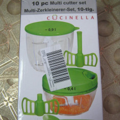 Tocator manual Cucinella 10piese