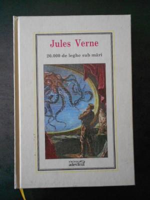 Jules Verne -  20.000 de leghe sub mari * Adevarul, Nr. 1 foto