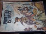 carte veche Povesti copii,POVESTIRI ISTORICE-DUMITRU ALMAS,ILUSTRATII,T.GRATUIT