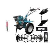 Motocultor Hs 1100D - 13 Cp+Roti Metalice+Rarita Fixa+Plug +Semanatoare