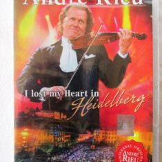 Andre Rieu - I LOST MY HEART IN HEIDELBERG - DVD original, cu holograma, nou