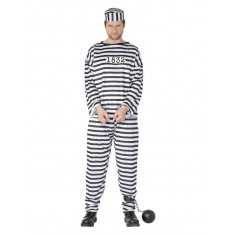 Costum de detinut pentru adulti