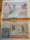 Ziarul terminatorul anul 1,nr. 1 - 1 martie 1996 -prima aparitie