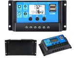 Regulator Controller Solar PWM 30A, 12V24V, 2 X USB Si LCD