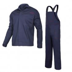Costum sudura, 100% bumbac ignifug, 4 buzunare, talie si mansete ajustabile, marime L/C