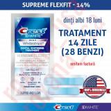 28x Benzi Albirea Dintilor Crest Whitestrips 3D Supreme Flexfit