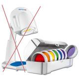 Kit complet de 7 lentile color therapy Bioptron Pro.1, nou
