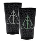 Pahar termosensibil - Harry Potter Deathly Hallows | Half Moon Bay