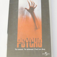 Caseta video VHS originala film tradus Ro - Psycho