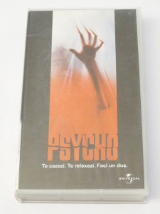 Caseta video VHS originala film tradus Ro - Psycho