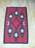 Covoras tip Carpeta traditional Romanesc,motive Traditionale,per.Comunista,T.GRA