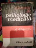Elemente de psihologie medicala