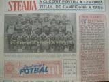 Supliment Sport (fotbal)-26 iunie 1987, Steaua campioana pentru a 12 oara