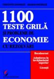1100 Teste grilă și probleme de economie cu rezolvări