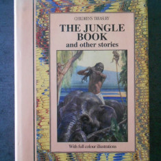 RUDYARD KIPLING - THE JUNGLE BOOK AND OTHER STORIES  (1993, ilustrata color)