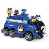 Super masina de politie Chase cu 6 catelusi Paw Patrol, Spin Master