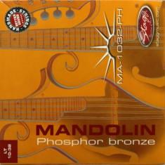 Set corzi bronz pentru mandolina Stagg MA-1032-PH