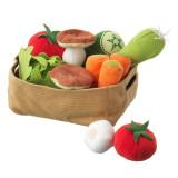Set cos legume, 14 piese, 3 ani+, Multicolor