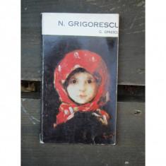 N. GRIGORESCU - G. OPRESCU