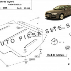 Scut metalic cutie automata Skoda Superb fabricata in perioada 2001 - 2008 APS-00,005