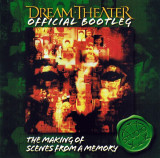 2 CD Dream Theater – Official Bootleg: The Making Of Scenes From A Memory