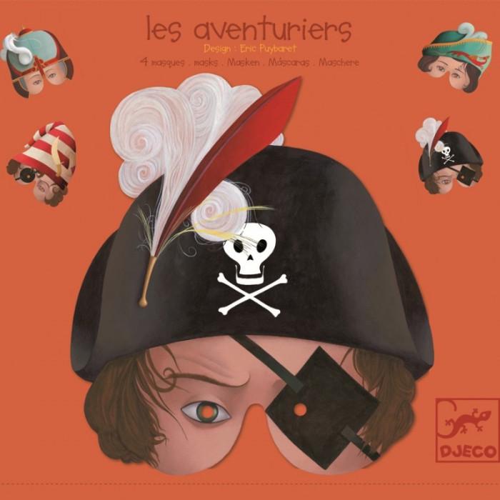 Masti de Carnaval Halloween- Djeco Aventurieri