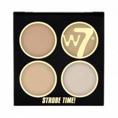 Kit Pentru Bronz Si Iluminare W7 Strobe Time Vivid Glow