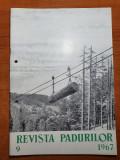 revista padurilor septembrie 1967-art.folosirea lemnului de-a lungul timpului