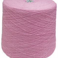 Fir tricotat , acril 100 % , 2/28 grosime , rola 2,2 Kg , roz